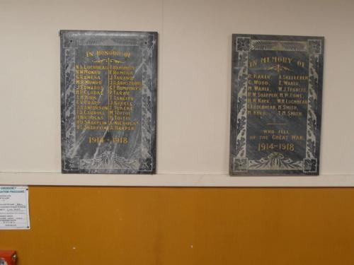 names on plaques 2015